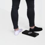 SOLIT socks black and white pack - de stijlvolle oplossing tegen afzakkende enkelsokken