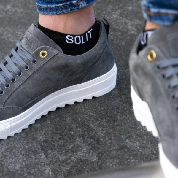 SOLIT socks Classic Cotton - de stijlvolle oplossing tegen afzakkende enkelsokken