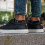 SOLIT socks - zwarte en witte dames en heren enkelsokken die niet afzakken